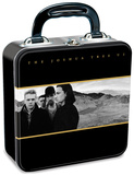 U2 Square Tin Lunch Box Lunch Box