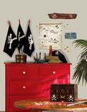 Pirates Maps & Signs Peel & Stick Giant Wall Decals Wall Decal