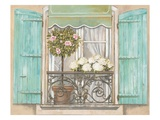 French Shutters 2 Prints by Stefania Ferri