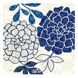 Blue Floralesque 2 Affiches par Bella Dos Santos