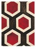 Hexagon Textile Kunst von Hope Smith