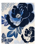 Moody Indigo Giclee Print by Violet Leclaire