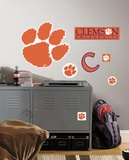 Clemson University Peel &amp; Stick Giant Wall Decals Wall Decal
