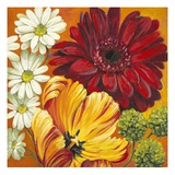 Joy Flowers Giclee Print by Jenaya Jackson