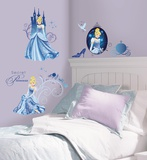Disney Princess - Cinderella Glamour Peel &amp; Stick Wall Decals Wall Decal