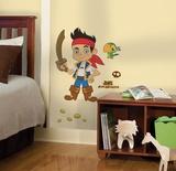 Jake & the Neverland Pirates Peel & Stick Giant Wall Decal Kalkomania ścienna