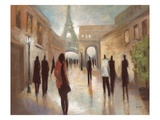 Paris Figures Prints by Marc Taylor