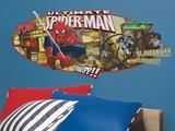 Spiderman - Ultimate Spiderman Headboard Peel & Stick Giant Wall Decal Wall Decal