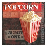 Popcorn Time Art by Sandra Smith