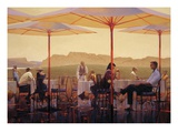 Winery Terrace Giclee Print by Brent Lynch