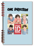 One Direction - 5 Head Shots Notebook Journal