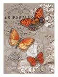 Linen Trio Ivory Kunstdrucke von Chad Barrett
