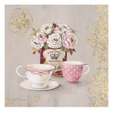 Set for Tea Giclee Print by Stefania Ferri