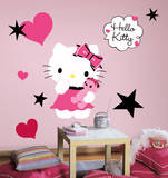 Hello Kitty - Couture Peel & Stick Giant Wall Decal - Duvar Çıkartması