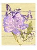 Peony Garden Giclee Print by Bella Dos Santos