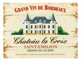 Chateau La Croix Premium Giclée-tryk af Martin Wiscombe