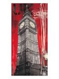 On British Time Poster von Evangeline Taylor