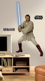 Star Wars Episodes 1 - 3 - ObiWan Peel & Stick Giant Wall Decal Wall Decal