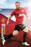 Wayne Rooney - Manchester United Prints