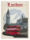 Londres Affiche par  Anderson Design Group