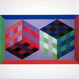 Homage of the Hexagon V Trykk-samleobjekter av Victor Vasarely