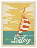 I'd Rather Be Sailing Art by  Anderson Design Group