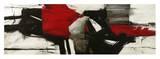 Red Profile Poster von Jim Stone