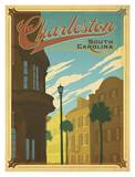 Charleston, South Carolina Print by  Anderson Design Group
