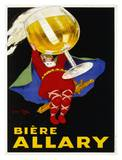 Biere Allary, 1928 Print by Jean D' Ylen