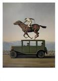 La Colere des Dieux Affiche par Rene Magritte