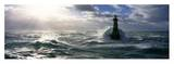 Phare d'Ar-Men, Mer d'iroise Prints by Jean Guichard
