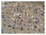 Aerial View of Beach, Spain Posters by Yann Arthus-Bertrand