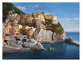 Manarola Le Cinque Terre Prints by Adriano Galasso