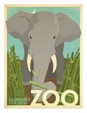 Zoo Elephant Posters por Anderson Design Group
