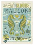 Seahorse Saloon Prints by  Anderson Design Group