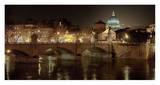 Rome at night Posters by Vadim Ratsenskiy