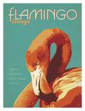 Flamingo Posters by  Anderson Design Group