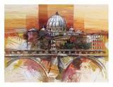 Roma eterna Prints by Luigi Florio