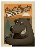 Great Smoky Mountains Bear Print by  Anderson Design Group