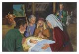 Adoration of the Shepherds Posters af Robert Berran
