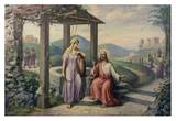 Christ & the Samaritan Women Prints by F.R. Bogdan