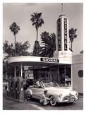 American Gas Station, 1950 Obra de arte