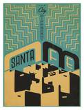 Santa Fe The City Different Art by  Anderson Design Group