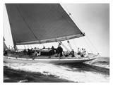 Edwin Levick - Yankee Cruising on East Coast, 1936 - Tablo
