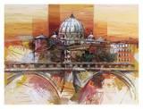 Roma eterna Posters by Luigi Florio
