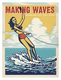 Making Waves Plakater af Anderson Design Group