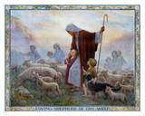 Loving Shepherd of Thy Sheep Posters af Margaret W. Tarrant