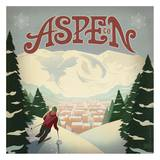 Aspen Square Posters by  Anderson Design Group