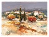 Borgo nel sole Prints by Luigi Florio