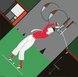 Golf Serigraph by  Lepas